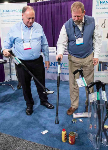 Handy Cane Wins Providers' Choice Silver Award at Medtrade Fall 2016
