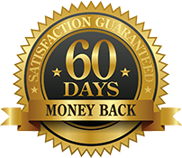 60 day money back satisfaction guarantee on our walking canes